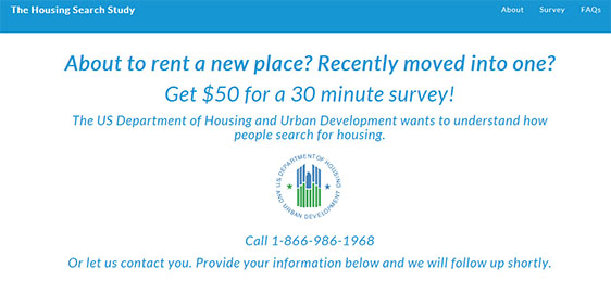 HUD Housing Search Study